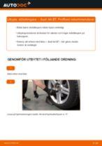 Byta stötdämpare bak på Audi A4 B7 – utbytesguide
