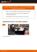 Byta gasfjäder baklucka på Audi A4 B7 – utbytesguide