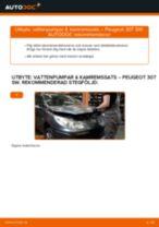 Byta vattenpumpar & kamremssats på Peugeot 307 SW – utbytesguide