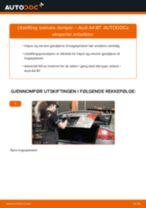 Slik bytter du bakluke demper på en Audi A4 B7 – veiledning