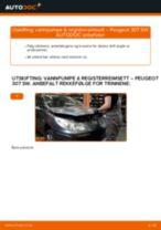 Mekanikerens anbefalinger om bytte av PEUGEOT Peugeot 307 SW 1.6 16V Drivstoffilter
