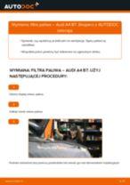 MANN-FILTER WK 853/3 x dla A4 Sedan (8EC, B7) | PDF przewodnik wymiany