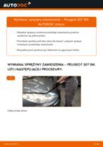 Jak wymienić sprężyny zawieszenia przód w Peugeot 307 SW - poradnik naprawy
