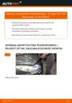 Zalecenia mechanika samochodowego dotyczącego tego, jak wymienić PEUGEOT Peugeot 307 SW 1.6 16V Amortyzator