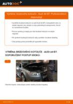 Jak vyměnit zadní brzdové kotouče na Audi A4 B7 – návod k výměně