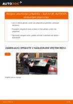Kako zamenjati avtodel amortizer prtljažnih vrat na avtu Audi A4 B7 – vodnik menjave