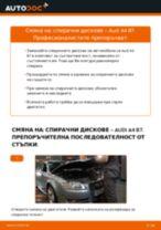 Как се сменят задни спирачни дискове на Audi A4 B7 – Ръководство за смяна