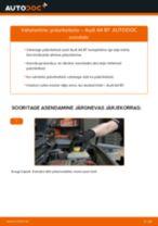 AUDI A4 (8EC, B7) Piduriketas vahetus - nõuanded ja nipid