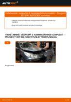 PEUGEOT hooldus - juhend pdf