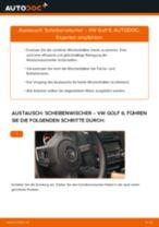 Anleitung: VW Golf 6 Scheibenwischer vorne wechseln