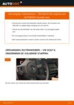 Hoe ruitenwissers vooraan vervangen bij een VW Golf 6 – Leidraad voor bij het vervangen