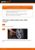 PDF manuel de remplacement: Triangle de suspension ALFA ROMEO 147 (937) arrière et avant