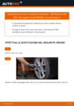 Cambiare Braccio Oscillante ALFA ROMEO 147: manuale tecnico d'officina