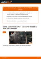 Útmutató PDF VENTO karbantartásáról