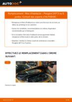 Comment changer : filtre d'habitacle sur Peugeot 207 3 ou 5 portes - Guide de remplacement