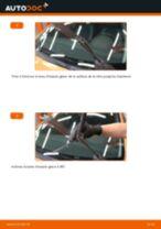 Comment changer : essuie-glaces avant sur Peugeot 207 3 ou 5 portes - Guide de remplacement