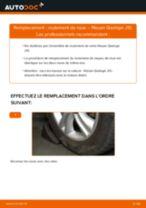 Comment changer : roulement de roue avant sur Nissan Qashqai J10 - Guide de remplacement