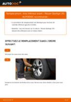 Comment changer : bras inférieur avant sur Nissan Qashqai J10 - Guide de remplacement