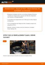 Comment changer : disques de frein avant sur Nissan Qashqai J10 - Guide de remplacement