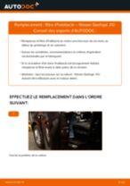 Comment changer : filtre d'habitacle sur Nissan Qashqai J10 - Guide de remplacement
