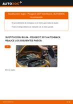 Cómo cambiar: bujía - Peugeot 207 hatchback | Guía de sustitución