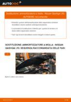 Le raccomandazioni dei meccanici delle auto sulla sostituzione di Fanale Posteriore NISSAN Nissan Qashqai j10 2.0 dCi Allrad