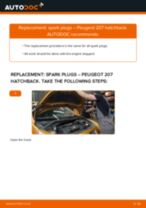 Peugeot 207 Saloon workshop manual online
