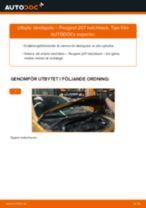 Byta tändspole på Peugeot 207 hatchback – utbytesguide