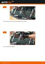 PDF med trinn for trinn-veiledning for bytte av Saab 9-5 Stasjonsvogn Blinklyspære