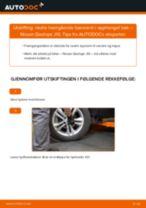 Mekanikerens anbefalinger om bytte av NISSAN Nissan Qashqai j10 2.0 dCi Allrad Hjullager