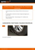 Mekanikerens anbefalinger om bytte av NISSAN Nissan Qashqai j10 2.0 dCi Allrad Bærebru