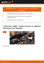 PDF med trinn for trinn-veiledning for bytte av Golf 5 Bremsewire