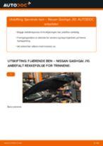 Hvordan bytte Hjulhastighetsfoler NISSAN QASHQAI - guide online