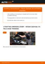 Mekanikerens anbefalinger om bytte av NISSAN Nissan Qashqai j10 2.0 dCi Allrad Bremsecaliper