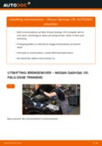 Mekanikerens anbefalinger om bytte av NISSAN Nissan Qashqai j10 2.0 dCi Allrad Bremseklosser