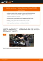 Korjaamokäsikirja tuotteelle Nissan Primera P11 Hatchback