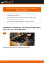 Jak wymienić łożysko koła tył w Peugeot 207 hatchback - poradnik naprawy