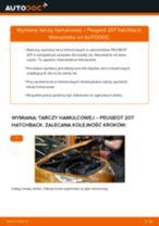 Jak wymienić tarcze hamulcowe tył w Peugeot 207 hatchback - poradnik naprawy