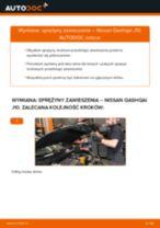 Wymiana Zacisk hamulca NISSAN QASHQAI: instrukcja napraw
