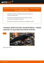 Jak zmienić Amortyzatory NISSAN QASHQAI: darmowy pdf