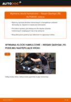 Zalecenia mechanika samochodowego dotyczącego tego, jak wymienić NISSAN Nissan Qashqai j10 2.0 dCi Allrad Klocki Hamulcowe