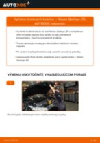 PDF návod na výmenu: Brzdový kotouč NISSAN Qashqai / Qashqai +2 I (J10, NJ10) zadné a predné