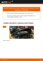 Návodý na opravu a údržbu PEUGEOT 508 I SW (8E_) 2014