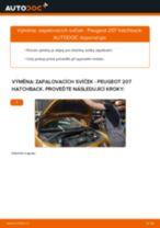Doporučení od automechaniků k výměně PEUGEOT PEUGEOT 207 (WA_, WC_) 1.6 HDi Vzpery Kufra