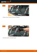 Jak vyměnit přední stírací lišty na Peugeot 207 hatchback – návod k výměně