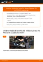 Jak vyměnit zadní brzdové kotouče na Nissan Qashqai J10 – návod k výměně