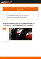 Jak vyměnit zadní světlo na Nissan Qashqai J10 – návod k výměně