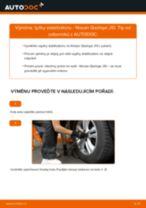 Jak vyměnit přední tyčky stabilizátora na Nissan Qashqai J10 – návod k výměně