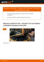 Zracni filter PEUGEOT 207 (WA_, WC_) | PDF vodič za zamenjavo