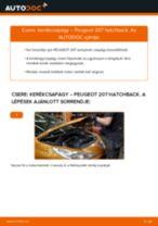 Autószerelői ajánlások - PEUGEOT 207 (WA_, WC_) 1.6 HDi Kerékcsapágy cseréje
